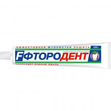 Зубная паста «Фтородент» 100г.