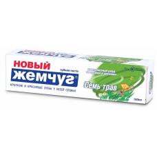 Зубная паста «Жемчуг новый» Семь трав 100 мл.