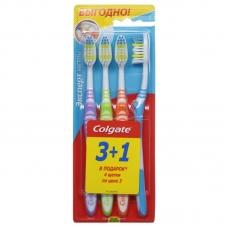 Зубная щетка Colgate® Эксперт чистоты средняя 3+1