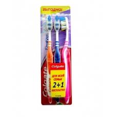 Зубная щетка Colgate® ЗигЗаг средняя 2+1
