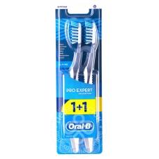 Зубная щетка Oral-B Pro-Expert Все в Одном средней жесткости 1+1