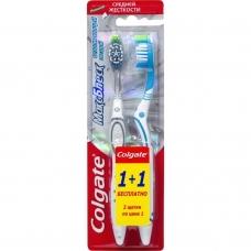 Зубная щетка Colgate® Макс Блеск 1+1 средняя