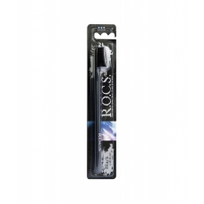 Зубная щетка R.O.C.S. Black Edition Classic средняя