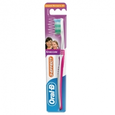 Зубная щетка Oral-B 3-effect classic 40 средняя